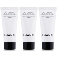 ChaneI CC Cream Super Active Complete Correction SPF 50  5ml x 3 tubes