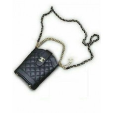 Chanel Paris Beaute VIP Gift Shoulder Bag Cross Body Bag Clutch -Black