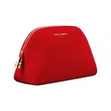 Dolce & Gabbana Beauty Red Cosmetic Makeup Bag