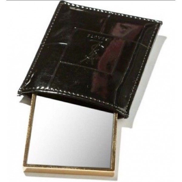 4cf4bb210e1 YSL Yves Saint Laurent VIP Gift Compact Mirror Gold With Black Pouch