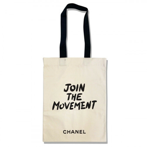 Chanel  JOIN THE MOVEMENT Tote Bag Shopping Bag VIP GIFT