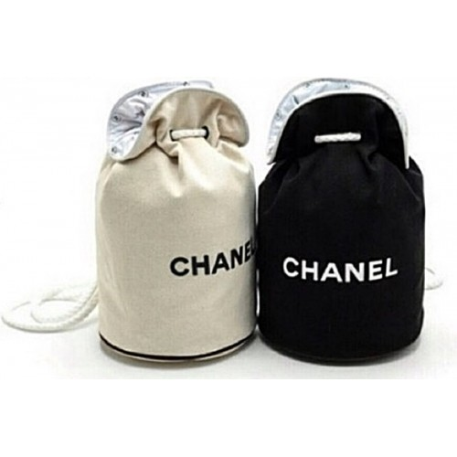 CLEARANCE - ( DEFECT ITEM ) - Backpack Black Drawstring Bucket Bag ( Small / Large)