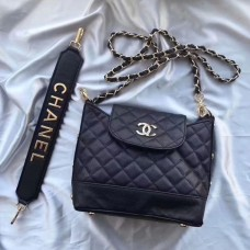 Chanel Black Tote / Shoulder  Bag Gift