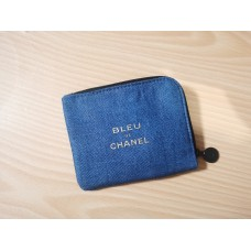 Chanel Canvas Coin Bag / Card Holder Vip Gift