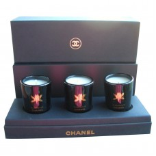 CHANEL Sublimage 3pc Scented Candle Set with Box