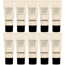 Chanel Les Beigs Healthy Glow Foundation SPF 25 / PA++ 2.5ml x 5 tubes