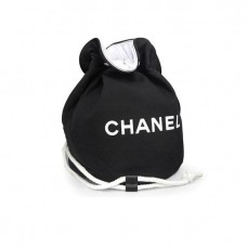 Backpack Black Drawstring Bucket Bag ( Small / Large)