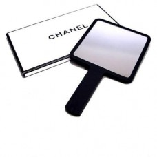 Chanel Small Square Matte Mirrors with Handle VIP Gift ( White / Black )