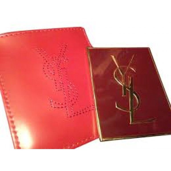 fcdc0b75d16a YSL Yves Saint Laurent Beauty Purse Makeup Mirror with Patent Pouch - Red